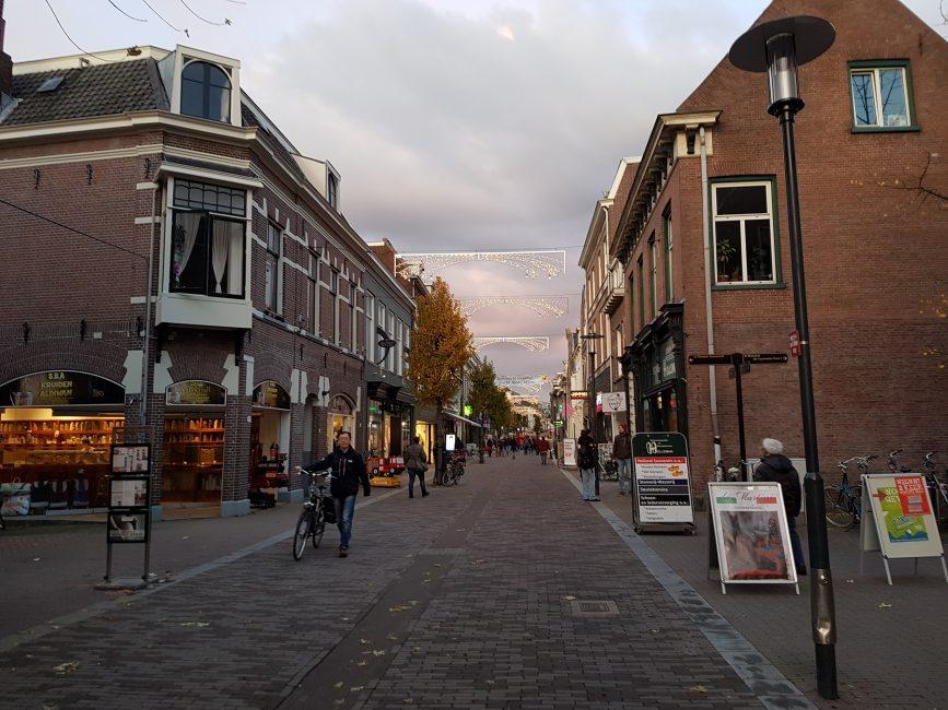 Nieuwe LED verlichting Binnenstad